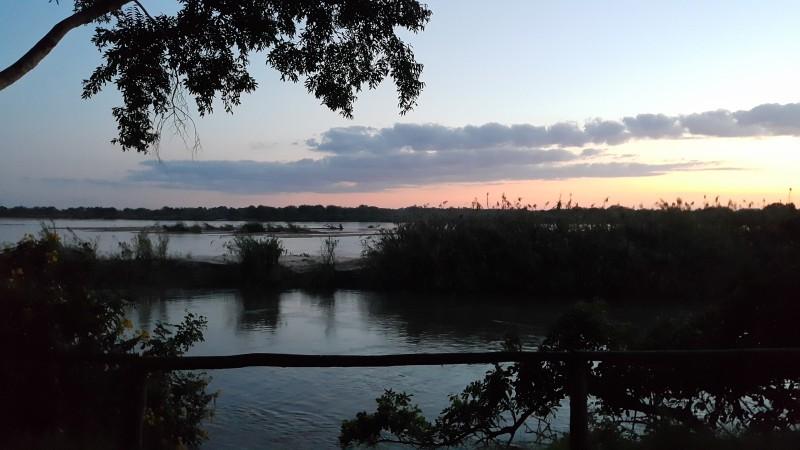 Закат в парке Селоус