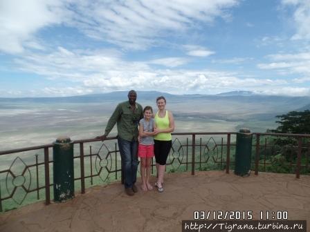панорама Нгоронгоро